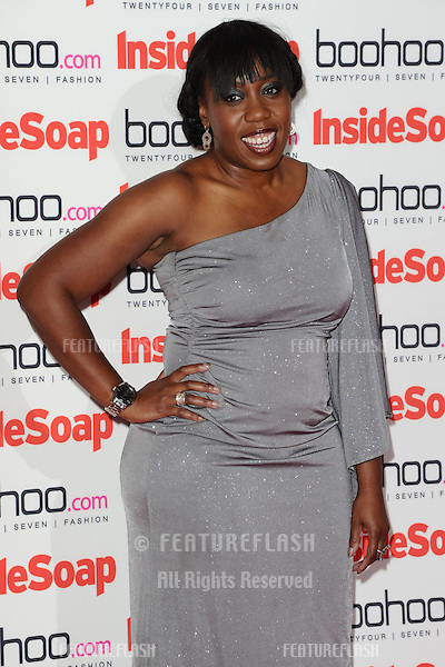 Chizzy Akudolu arriving for the 2012 Inside Soap Awards, at No.1 Marylebone, London. 24/09/2012 Picture by: Steve Vas / Featureflash