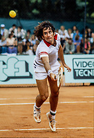 June 01, 1979, Paris, France, Stade Roland Garros, French Open,  Harold Solomon (USA) <br /> Photo: Tennisimages/Henk Koster