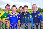 ENJOYABALE: Enjoying the family day at Ballymacelligott GAA Ground to raise funds for the club on Sunday, l-r: Bobby Howard, Denis Leen, John McKeown, Tom O'Sullivan and Paul Horan..   Copyright Kerry's Eye 2008
