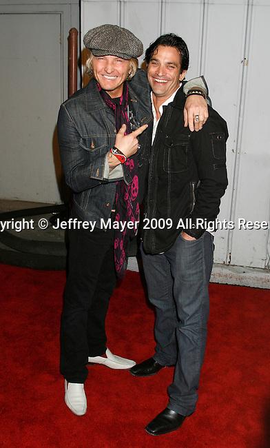 SANTA MONICA, CA. - May 13: Matt Sorum and Jonathon Schaech arrive at the Maxim's 10th Annual Hot 100 Celebration at The Barker Hangar on May 13, 2009 in Santa Monica, California.