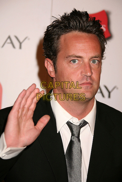 MATTHEW PERRY.The TV Guide After Party following the 58th Annual Primetime Emmy Awards, Los Angeles, California, USA..August 27th, 2006.Ref: ADM/BP.headshot portrait hand palm.www.capitalpictures.com.sales@capitalpictures.com.©Byron Purvis/AdMedia/Capital Pictures.