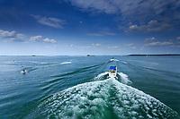 France, Marne (51), lac du Der-Chantecoq ou lac-réservoir Marne, Giffaumont-Champaubert, station nautique