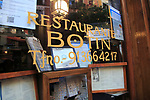 Restaurant Sobrino de Botin, Madrid city centre, Spain from 1725 claims to be one of world's oldest restaurants