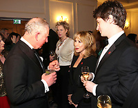 07 February 2019 - Prince Charles, Prince Of Wales meets actress Felicity Kendal and her son Jacob Rudman during the Prince's Trust Invest In Futures Reception at The Savoy Hotel in London. Over the past 13 years, The Princes Trusts 'Invest in Futures' event has encouraged donors to help disadvantaged young people into work, training or enterprise. Photo Credit: ALPR/AdMedia