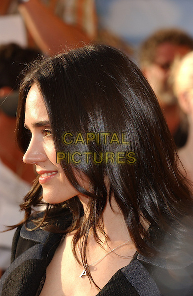 JENNIFER CONNELLY.Attends The 2005 MTV Movie Awards held at The Shrine Theatre in Los Angeles, California, USA, .June 4th 2005..portrait headshot connolly profile.Ref: DVS.www.capitalpictures.com.sales@capitalpictures.com.©Debbie VanStory/Capital Pictures