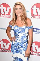 Gemma Oaten<br /> arriving for the TV Choice Awards 2017 at The Dorchester Hotel, London. <br /> <br /> <br /> ©Ash Knotek  D3303  04/09/2017