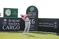 Graeme McDowell (NIR) on the 16th during Round 3 of the Saudi International at the Royal Greens Golf and Country Club, King Abdullah Economic City, Saudi Arabia. 01/02/2020<br /> Picture: Golffile | Thos Caffrey<br /> <br /> <br /> All photo usage must carry mandatory copyright credit (© Golffile | Thos Caffrey)