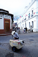 The ice cream vendor,  San Cristobal de las Casas, Chiapas 3-13