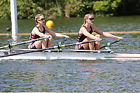 Race: 9  Event: Aspirational 2x<br /> Crew: 168  Club: Thames (B)<br /> <br /> Henley Women's Regatta 2018<br /> Friday<br /> <br /> To purchase this photo, or to see pricing information for Prints and Downloads, click the blue 'Add to Cart' button at the top-right of the page.