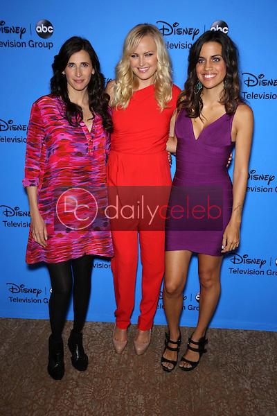 Malin Akerman, Natalie Morales, Michaela Watkins<br /> at the Disney/ABC Summer 2013 TCA Press Tour, Beverly Hilton, Beverly Hills, CA 08-04-13<br /> David Edwards/DailyCeleb.Com 818-249-4998