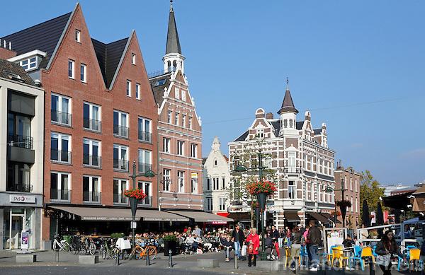 Nederland Breda  2015 . Straatbeeld in het centrum van Breda.  Foto Berlinda van Dam / Hollandse Hoogte