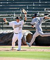 Josh Donaldson / Phoenix Desert Dogs 2008 Arizona Fall League..Photo by:  Bill Mitchell/Four Seam Images