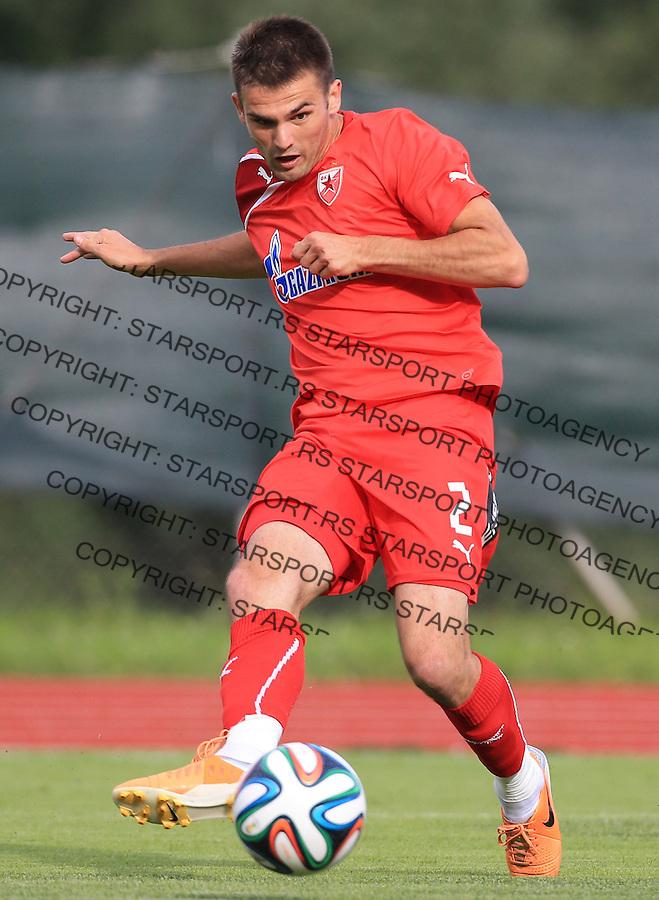 Fudbal season 2013-2014<br /> FK Crvena Zvezda pripreme<br /> Crvena Zvezda v Krka<br /> Marko Petkovic<br /> Novo Mesto, 07.12.2014.<br /> foto: Srdjan Stevanovic/Starsportphoto &copy;