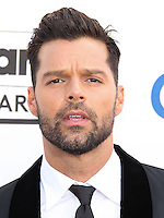 LAS VEGAS, NV, USA - MAY 18: Ricky Martin at the Billboard Music Awards 2014 held at the MGM Grand Garden Arena on May 18, 2014 in Las Vegas, Nevada, United States. (Photo by Xavier Collin/Celebrity Monitor)