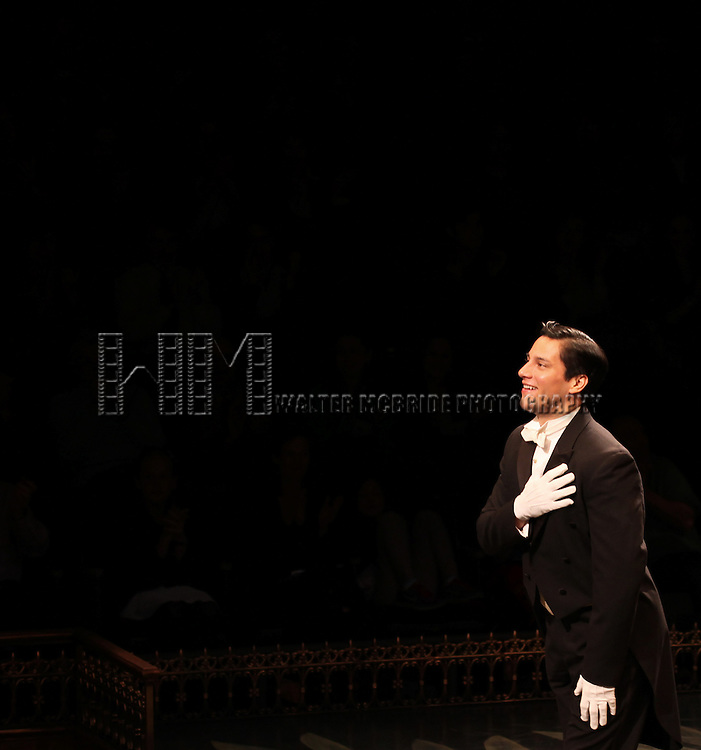 Nicholas Rodriguez during the Curtain Call for the Arena Stage Production of 'My Fair Lady' at the Mead Center in Washington, D.C. on November 30, 2012.