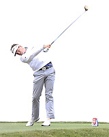 24 JAN 13  Vermont's Keegan Bradley during Thursdays First Round action  at The Farmers Insurance Open at Torrey Pines Golf Course in La Jolla, California. (photo:  kenneth e.dennis / kendennisphoto.com)
