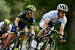 The peloton including White Jersey Simon Yates (GBR) Orica-Scott in action during Stage 19 of the 104th edition of the Tour de France 2017, running 222.5km from Embrun to Salon-de-Provence, France. 21st July 2017.<br /> Picture: ASO/Alex Broadway | Cyclefile<br /> <br /> <br /> All photos usage must carry mandatory copyright credit (&copy; Cyclefile | ASO/Alex Broadway)