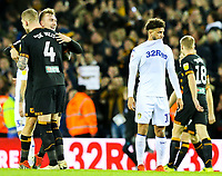 Leeds United's Tyler Roberts reacts to the final whistle<br /> <br /> Photographer Alex Dodd/CameraSport<br /> <br /> The EFL Sky Bet Championship - Leeds United v Hull City - Saturday 29th December 2018 - Elland Road - Leeds<br /> <br /> World Copyright © 2018 CameraSport. All rights reserved. 43 Linden Ave. Countesthorpe. Leicester. England. LE8 5PG - Tel: +44 (0) 116 277 4147 - admin@camerasport.com - www.camerasport.com