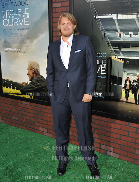 "Joe Massingill at the premiere of his movie ""Trouble With The Curve"" at the Mann Village Theatre, Westwood..September 19, 2012  Los Angeles, CA.Picture: Paul Smith / Featureflash"