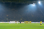 05.02.2019, Signal Iduna Park, Dortmund, GER, DFB-Pokal, Achtelfinale, Borussia Dortmund vs Werder Bremen<br /> <br /> DFB REGULATIONS PROHIBIT ANY USE OF PHOTOGRAPHS AS IMAGE SEQUENCES AND/OR QUASI-VIDEO.<br /> <br /> im Bild / picture shows<br /> Elfmeterschiessen<br /> <br /> Foto &copy; nordphoto / Ewert