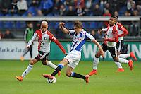 VOETBAL: HEERENVEEN: Abe Lenstra Stadion 21-05-2015, SC Heerenveen - Feyenoord, uitslag 1-0, Simon Thern, ©foto Martin de Jong