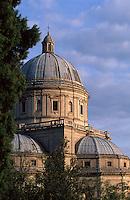 Italien, Umbrien, Santa Maria della Consolazzionein in Todi, 14. Jh..