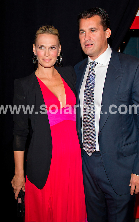 "**ALL ROUND PICTURES FROM SOLARPIX.COM**                                             **SYNDICATION RIGHTS FOR UK, AUSTRALIA, DENMARK, PORTUGAL, S. AFRICA, SPAIN & DUBAI (U.A.E) & ASIA (EXCLUDING JAPAN) ONLY**                                                                                  Arrivals at the ""Safe House"" World Movie Premiere at the School of Visual Arts (SVA ) Theatre, New York City, NY, USA.                                                                          .This pic:    Molly Sims and Scott Stuber                                                                      .JOB REF:  14454     PHZ Norfleet    DATE:  07.02.12                                                           **MUST CREDIT SOLARPIX.COM OR DOUBLE FEE WILL BE CHARGED**                                                                      **MUST AGREE FEE BEFORE ONLINE USAGE**                               **CALL US ON: +34 952 811 768 or LOW RATE FROM UK 0844 617 7637**"