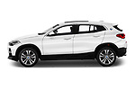 Car driver side profile view of a 2018 BMW X2 Base 5 Door SUV
