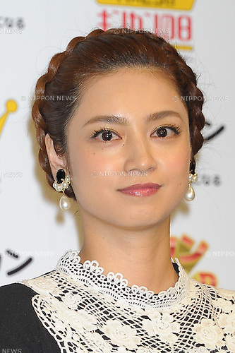 File photo of Japanese actor Airi Taira taken on Nov 11, 2015. Taira and Japanese soccer star Yuto Nagatomo annouced that they were a couple on June 2nd, 2016.