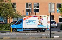 Nederland Zaandam 2019. Bezorgauto van Albert Heijn. Foto Berlinda van Dam / Hollandse Hoogte