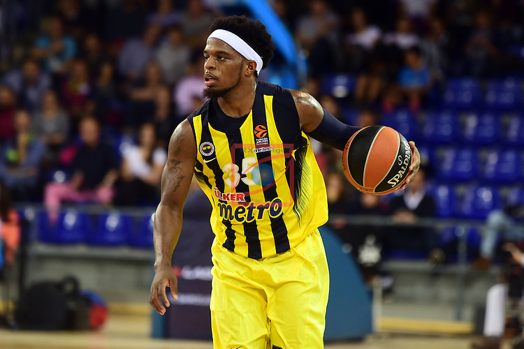 Turkish Airlines Euroleague 2016/2017.<br /> Regular Season - Round 2.<br /> FC Barcelona Lassa vs Fenerbahce Istanbul: 72-73.<br /> Bobby Dixon.