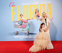 "Brooklyn Kimberly Prince and Bria Vinaite<br /> arriving for the London Film Festival 2017 screening of ""The Florida Project"" at Odeon Leicester Square, London<br /> <br /> <br /> ©Ash Knotek  D3335  13/10/2017"