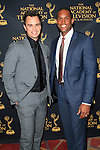 LOS ANGELES - APR 24: Darin Brooks, Lawrence Saint Victor at The 42nd Daytime Creative Arts Emmy Awards Gala at the Universal Hilton Hotel on April 24, 2015 in Los Angeles, California