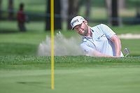 Brandon Grace (RSA) hits from the trap on 11 during round 2 of the World Golf Championships, Mexico, Club De Golf Chapultepec, Mexico City, Mexico. 3/2/2018.<br /> Picture: Golffile | Ken Murray<br /> <br /> <br /> All photo usage must carry mandatory copyright credit (&copy; Golffile | Ken Murray)