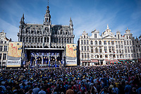 Official 106th Tour de France 2019 Teams Presentation at the Central Square (Grote Markt) in Brussels (Belgium)<br /> <br /> ©kramon