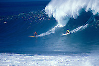 Hawaii, Oahu, North Shore, Waimea Bay.