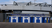11th May 2020, St. Andrew's Stadium, Birmingham, United Kingdom; The Birmingham City FC stadium stands deserted during the lock-down due to the Covid-19 pandemic