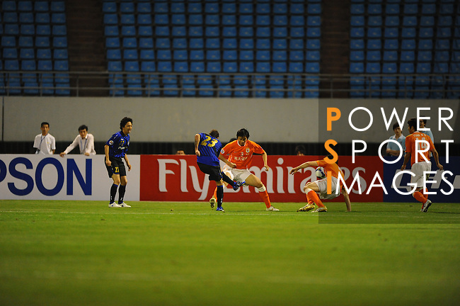 Shandong Luneng vs Gamba Osakal during the 2009 AFC Champions League Group F match on May 06, 2009 at the ,Shandong Provincial Stadium, Jinan, China. Photo by World Sport Group