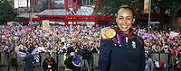 Jessica Ennis Sheffield Homecoming 2012