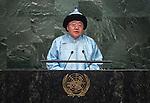 H.E. Embegdorj TSAKHIA President