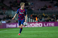 30th January 2020; Camp Nou, Barcelona, Catalonia, Spain; Copa Del Rey Football, Barcelona versus Leganes; Frenkie de Jong of FC Barcelona comes forward on the ball