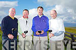 Jerry Laden, Philip O'Sullivan, Barry Murphy, Joe McCarthy, at the Golf Digest Volvo Challenge at Tralee Golf Club in Barrow on Friday