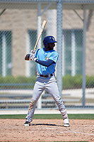 Tampa Bay Rays Bryce Brown (65) during a Minor League Spring Training game against the Minnesota Twins on March 15, 2018 at CenturyLink Sports Complex in Fort Myers, Florida.  (Mike Janes/Four Seam Images)