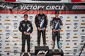F4 US Championship<br /> Rounds 16-17-18<br /> Circuit of The Americas, Austin, TX USA<br /> Friday15 September 2017<br /> 24, Benjamin Pedersen 8, Kyle Kirkwood 41, Braden Eves<br /> World Copyright: Keith Daniel Rizzo<br /> LAT Images