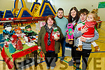 Rose and Damien Kissane from Lixnaw with Stepenie Nix, Sean and Fiadh Kissane displaying their crafts at the John Mitchels GAA Club Christmas Market on Saturday.