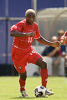 Panama's Luis Tejada. The United States defeated Panama 3-1 in a shoot out after a scoreless game to win the CONCACAF Gold Cup at Giant's Stadium, East Rutherford, NJ, on July 24, 2005.