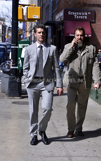 WWW.ACEPIXS.COM....April 19, 2013, New York, New York.......Jason Hoppy out and about on April 19, 2013 in New York City.......By Line: Curtis Means/ACE Pictures....ACE Pictures, Inc..Tel: 646 769 0430..Email: info@acepixs.com