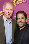 Noah Emmerich and Brett Ratner attends the Broadway Opening Performance of 'Charlie and the Chocolate Factory' at the Lunt-Fontanne Theatre on April 23, 2017 in New York City.