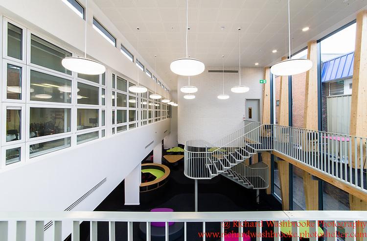 T&amp;B (Contractors) Ltd  - Sarah Bonnell School, Stratford  7th September 2015 <br /> <br /> Photo:  - Richard Washbrooke Photography