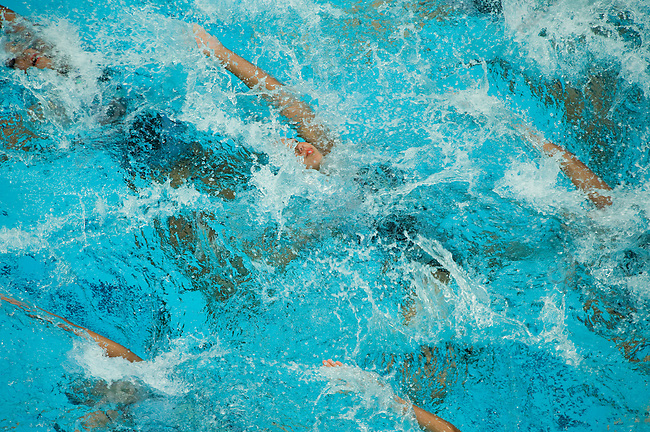 Synchronized Swimming, Egypt, National Aquatics Center, Summer Olympics, Beijing, China, August 22, 2008